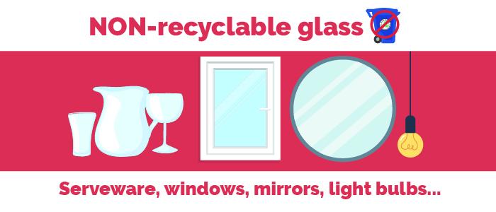 Nonrecyclable Glass