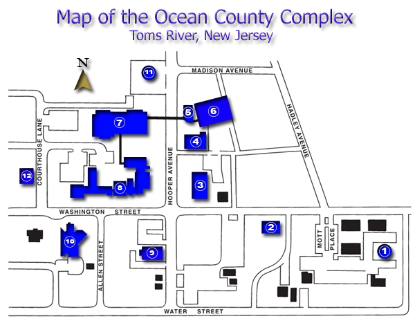 Map of County Complex